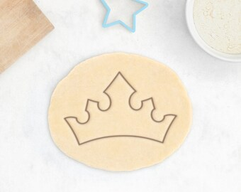 Princess Tiara Cookie Cutter – Princess Cookie Cutter Crown Cookie Cutter Fairy Tale Cookies Baby Shower Favor Princess Gift For Her King