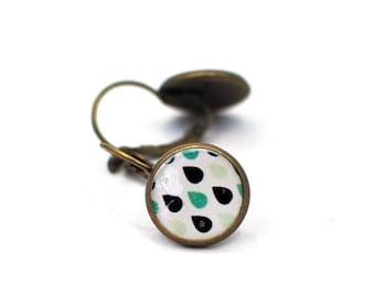 Teardrop Earrings, Gift for Women, Raindrop Earrings, Statement Jewlery, Gift for Her, Geometric Earrings, Silver Earrings, Dangle Earrings