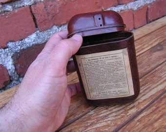 Vintage Army box, Military box, Anti-chemical military box, Bakelite box