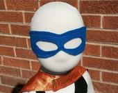 Mask, Royal Blue Felt...