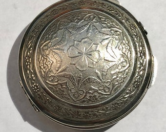 Three Flowers, Richard Hudnut 1920s Compact