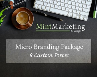 Micro Branding Graphics Package *MADE TO ORDER*