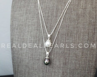 Essence | Argentium Silver Pendant with Sterling Silver Necklace