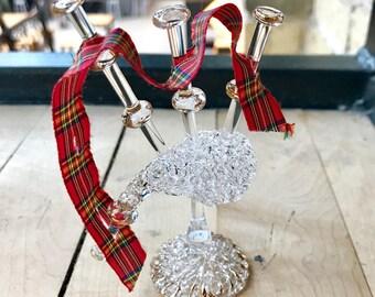 Glass Bagpipe - Scottish
