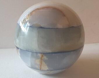 Large marble sphere