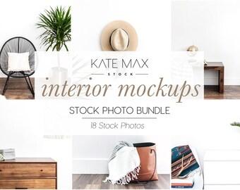 Interior Mockups Styled Stock Photo / Product Mockup / 18 Styled Stock Photography / KateMaxStock Photography