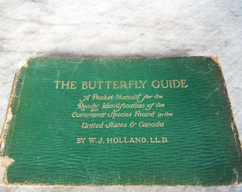 The Butterfly Guide - Leather Pocket Manual - Holland