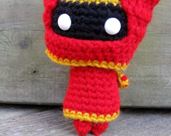 Journey inspired Plush in Red and/or White