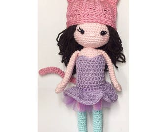 Inku the Kitty Crochet Pattern. English/Dutch
