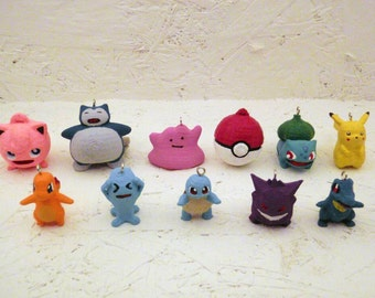 Pokemon Christmas Ornaments