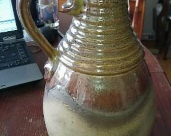 German Pottery SCHEURICH Jug Vase Mid-Century 1960s