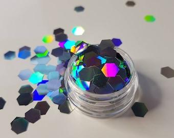 Silver Rocks Chunky Glitter