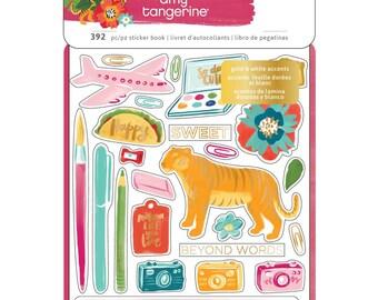 Amy Tangerine Hustle & Heart Sticker Book 8 Sheets / 392 piece stickers (341884)