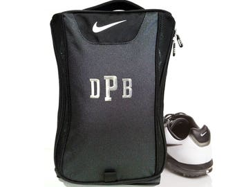 4 Shoe Bags Nike Brand Golf Shoe Bag, Groomsmen Gift, Golf Bag, Personalized Golf Bag, Personalized Golf Shoe Bag, Nike Shoe Bag, Nike Bag