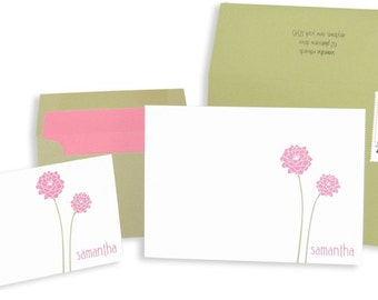 Flowered Stationery