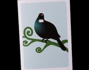 Greeting Card - Tui - single card