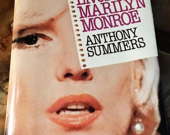"""Vintage Book """"Goddess The Secret Lives of Marilyn Monroe"""" by Anthony Summers 1985"""
