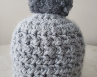 Crochet toque for newborn