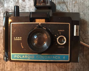 Vintage Polaroid Colorpack ii Land Camera