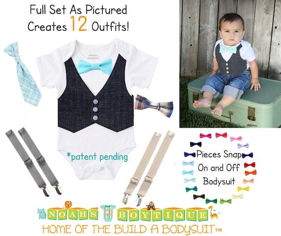 baby boy kleidung baby dusche geschenk set einzigartige. Black Bedroom Furniture Sets. Home Design Ideas