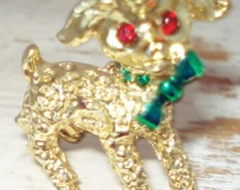 Vintage Lamb Pin