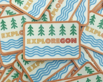 Exploregon Sticker
