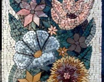 Mosaic Contemporary Flower Basket