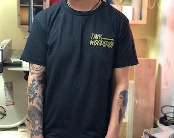 Tiny woodshop shirt