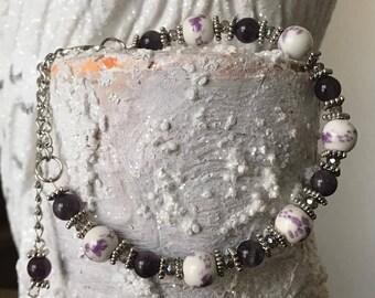 Amethyst Garden Bracelet