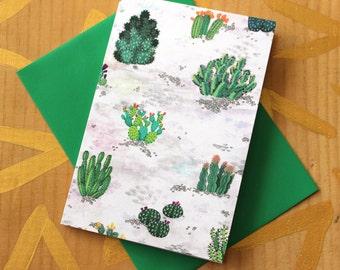 Desert Flowers Card