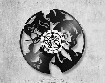 Vinyl 33 clock towers theme Peter Pan and Captain Hook