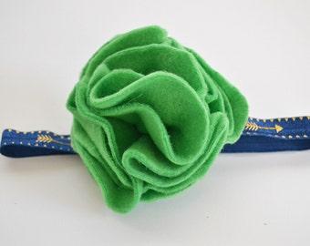 CLEARANCE Felt Flower Kids Headband - birthday gifts for girls, christmas gifts for girls, felt flowers, flower headband, cute headbands