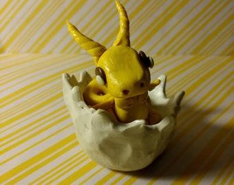 Polymer Clay Peep Inspired Dragon