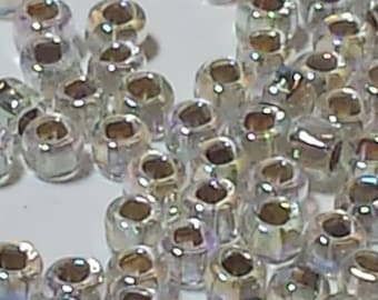 Vintage Silver Arora Size 12 Seed Beads