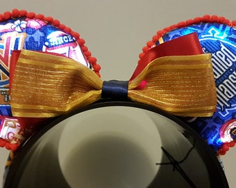 Light UP WDW 45th Celebration Mickey mouse inspired Ears