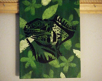 Silhouettes of Nature Collection - Iguana