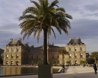 """Photo Art Paris """"LE PALAIS du LUXEMBOURG"""""""