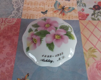 Vintage Small Fine China Trinket Holder