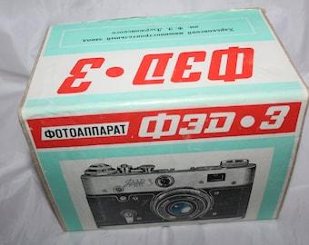 Camera USSR FED-3 + Box Optics USSR