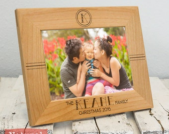 Personalized Family Christmas Frame - Christmas Gifts For Parents - Christmas Gifts For Him - Mom Christmas Gift - Family Picture Frame