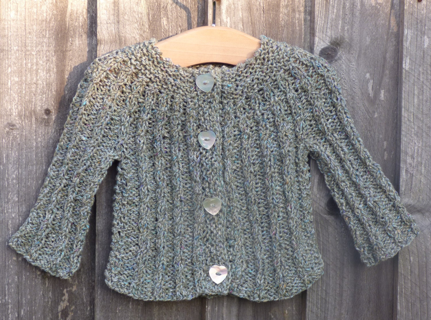 Cardigan TOP DOWN KNITTING Pattern - Callie a Seamless Cabled ...