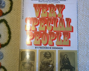 Very Special People-by Frederick Drimmer-Human Oddities-freakshow