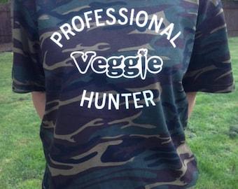 Professional Veggie Hunter T-shirt