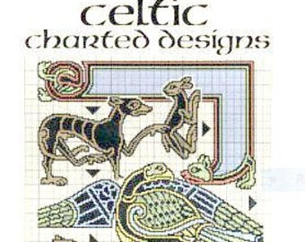 Dover Needlework Series Celtic Charted Designs CO Spinhoven Counted Cross Stitch Pattern Book Charted Design Needlework Out of Print Spirals