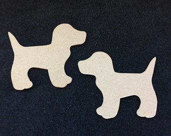 Dog Blanks-DIY Chipboard-Alterable Large Chipboard Dog-Decor-Unfinished-Party Decor-Kids Birthday Crafts-Planner Accessories-Cupcake Toppers