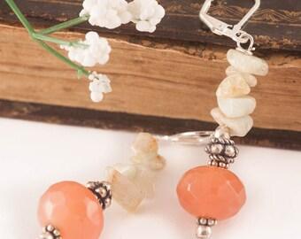 Carnelian Dangle Earrings, Bohemian Earrings, Boho Earrings, Dangle Earrings, GEMSTONE Earrings, Gift For Woman, Statement Earrings, Gift