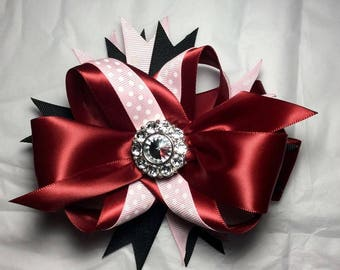 Red Ruby Hair Bow