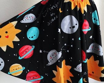 Things in Space Skater Skirt - Size S-3X