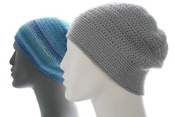 Crochet Pattern The Sock Guy Beanie For Men Crochet Hat