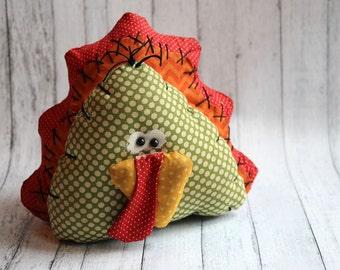Primitive Plump Thanksgiving Turkey Decoration (HAFAIR)